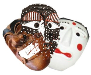 """Korean folkdance mask"". Licensed under CC BY-SA 3.0 via Wikimedia Commons - http://commons.wikimedia.org/wiki/File:Korean_folkdance_mask.jpg#mediaviewer/File:Korean_folkdance_mask.jpg"